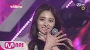 Produce 101 11 EyecontactㅣZhou Jie Qiong – Group 1 Apink ♬I don't Know EP.04 20160212