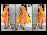 Stylish 6 Panel Kurti Ethnic Dress Latest KurtiKurti Design