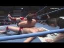 Joe Doering vs Naoya Nomura AJPW Champion Carnival 2018 Day 14