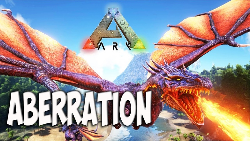 ARK Survival Evolved - Aberration. Томим пауков, крысоглотов и прочую тварь.