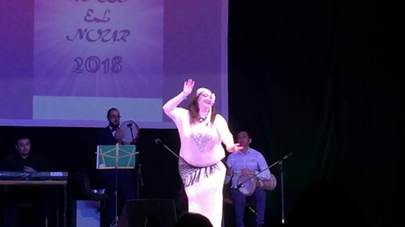 Нурия Гилязева. Raks el Nour 2018. Baladi Band. baladi taksim