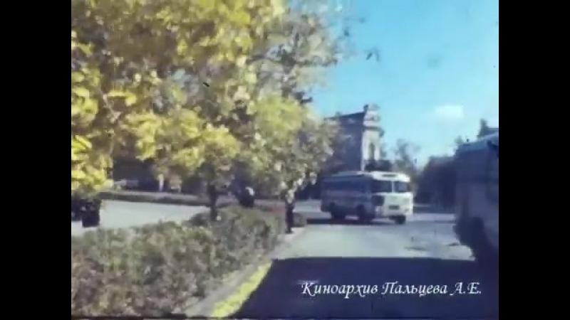 Астрахань 1965. Золотая осень. Кинозарисовка