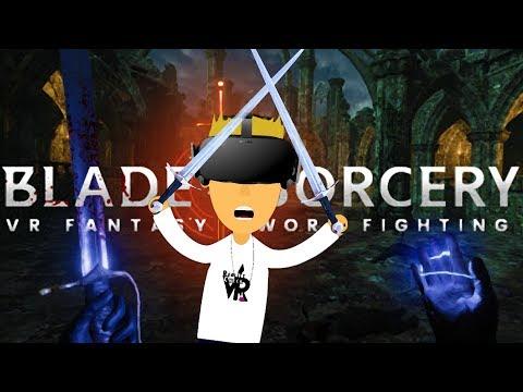 REALISTIC FANTASY FIGHTING! - Blade Sorcery | Oculus Rift