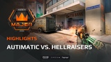 Highlights Autimatic vs HellRaisers, FACEIT Major London 2018 - New Legends Stage