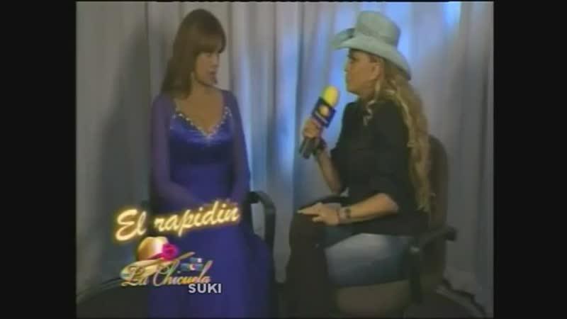 Lucía Méndez - Entrevista por Qué noche con la Chicuela part 4 (Sep. 2011)