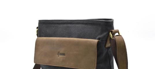 4ea276e188ad Мужская сумка парусина+кожа RG-0040-4lx бренда Tarwa ✓RG-0040-4lx по цене 1  650 грн. — купить в Киеве,.. 7bags.com.ua