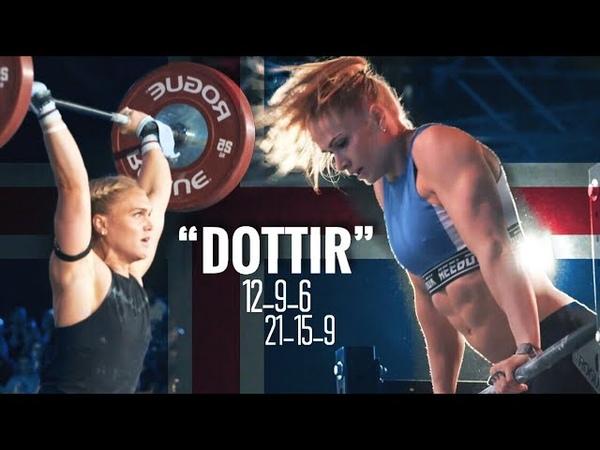 The NEW CrossFit Benchmark workout: DOTTIR