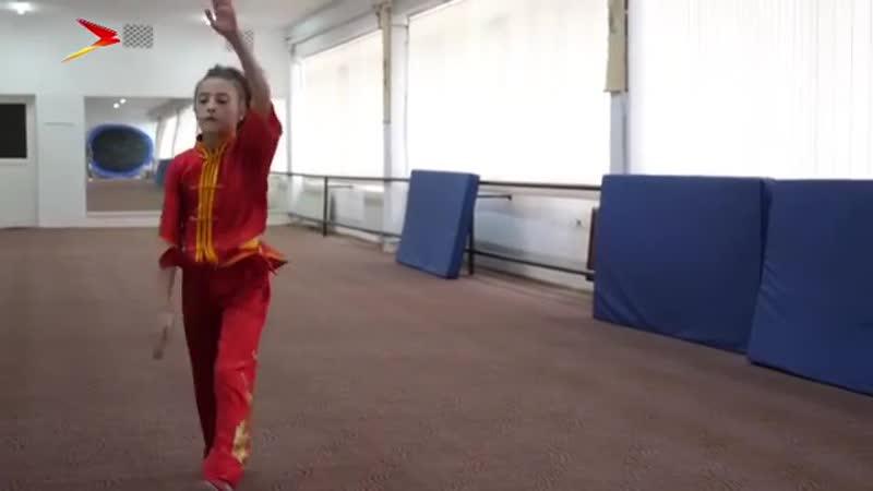 Евгения Дзуцева, в 12 лет уже чемпионка Европы