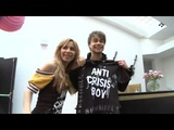 Alexander Rybak receives T-Shirt