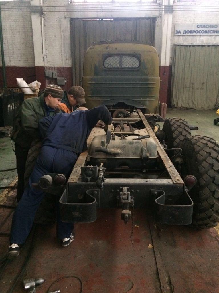 РеставрацияЗИЛ-157