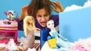 Barbie hastalanan Elsaya bakıyor! Karlar Ülkesi Türkçe