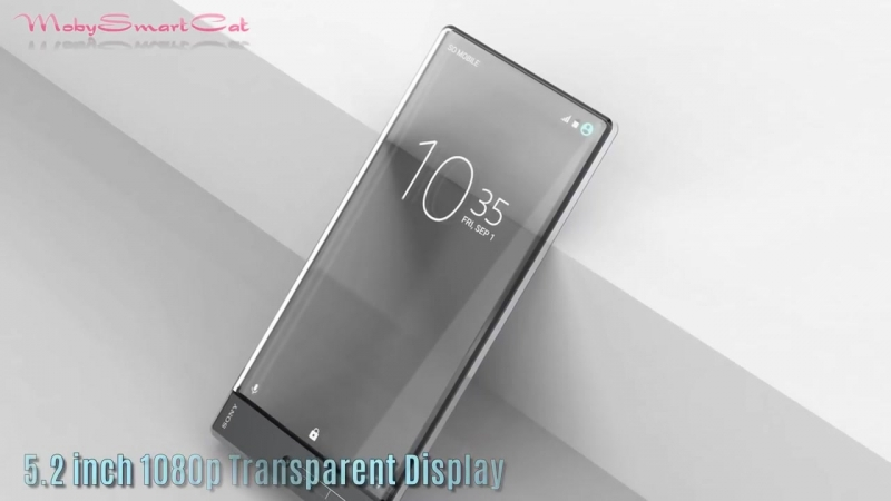 Sony XPERIA Z Pureness 2019 - First Full Transparent Screen Smartphone in Revolutionary Concept ᴴᴰ.mp4