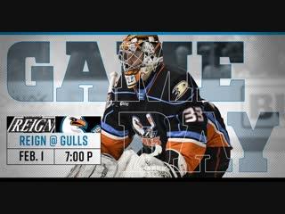AHL | RS-18/19| Ontario Rein vs San Diego Gulls