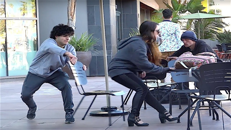 Chair Pulling Pranks Compilation