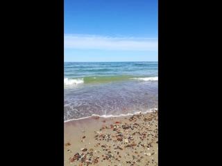 Абсолютно прозрачное, изумрудно-сапфировое Балтийское море.
