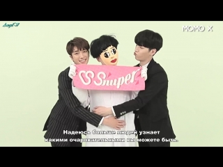 [RUS SUB] Momo X Zone! Zealous!: The gang of pretty boys. Snuper Woosung, Sebin. Ep.8
