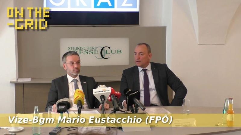 Herbert Kickl und Mario Eustacchio zur allgemeinen Sicherheitslage, On The Grid Ep: 179