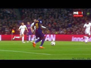 Первый гол Дембеле за Барселону l Qweex l vk.com/nice_football
