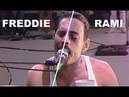 BOHEMIAN RHAPSODY MOVIE 2018 [ LIVE AID COMPLETE SONGS Side by Side with the QUEEN LIVE AID 1985 ]