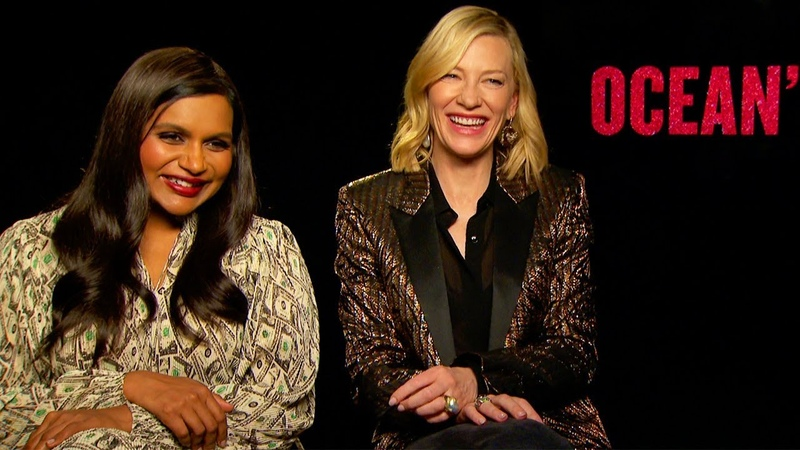 MINDY KALING and CATE BLANCHETT on the success of Ocean's8