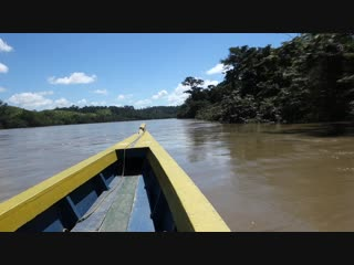 По широкой Усумасинте между Мексикой и Гватемалой.