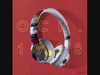Beats by dre | beats solo3 wireless – юбилейная серия mickey's 90th anniversary