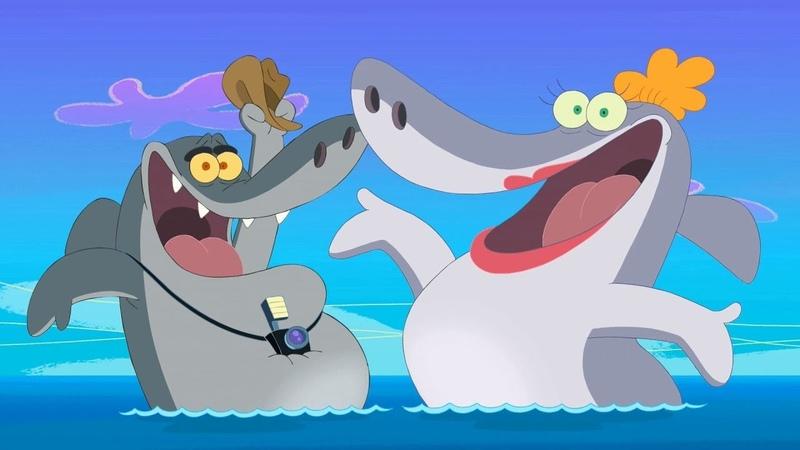 Phim Hoạt Hình Zig Và Sharko ★ Cây kem đánh răng ma quái ★ Tập 1 ★ Hoạt Hình Vui Nhộn Cho Bé