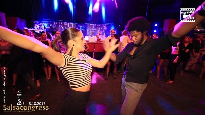 Terry SalsAlianza Hande Atalay - social dancing @ Berlin Salsa Congress 2017