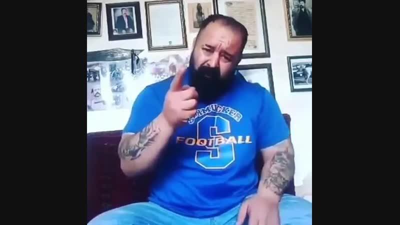 Азербайджанский богатырь Керим предупредил персидского нациста из Персеполис ТВ