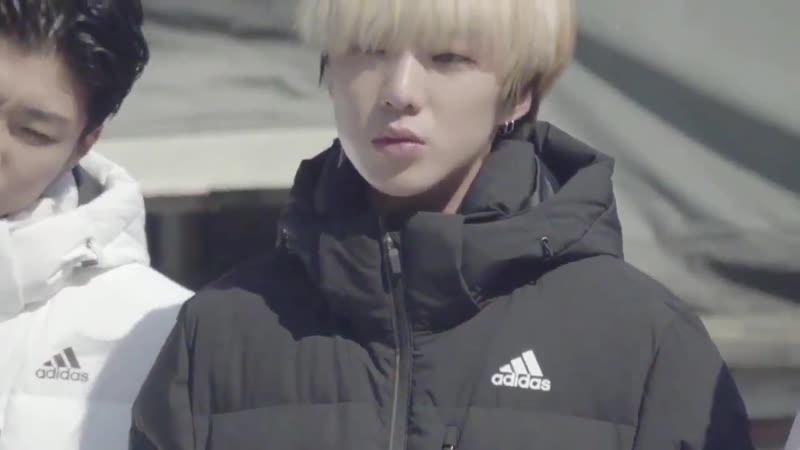 [ENDORSEMENT] WINNER x ADIDAS KOREA LONG BENCH PARKA -