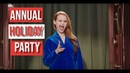 How to behave at an annual holiday party Madelaine Petsch