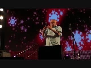 Гиора Фейдман. Выступление на клезмерском фестивале в Цфате 2012 год.
