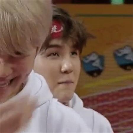 """민윤기🥰 on Instagram: """"yoongi told me to tell you that besides jungoo, he's the nations baby boy who wants kisses on his forehead ):"""