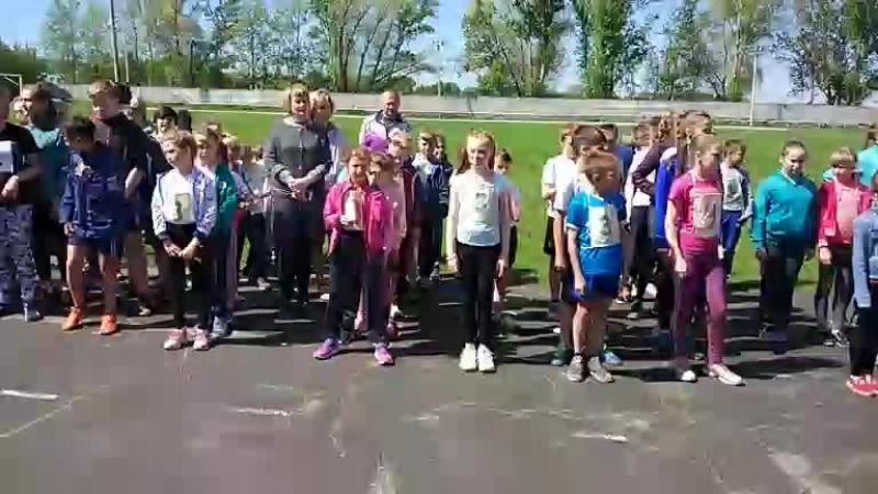 Эстафета среди школьников 2-5 классов. вГусе (vk.com/vguse)