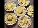 Запеченый картофель с тефтелькой