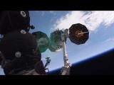 Отстыковка грузового корабля Cygnus от МКС