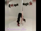 Pole Dance_ наработка силы_ Анастасия Лань