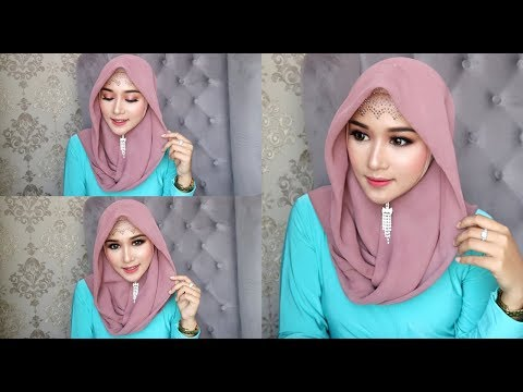 CARA MAKE UP TERKESAN NATURAL TAPI KEKINIAN DAN HIJAB SIMPLE MUKA TEMBEM