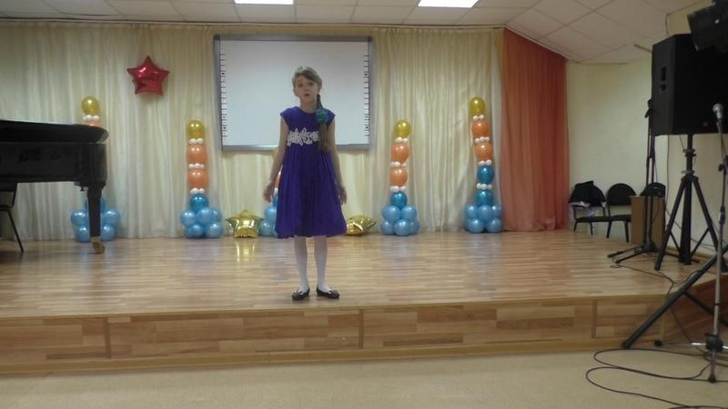 Андриянова Арина (преподаватель Бердникова Н.И) МБОУ ДО ДШИ г Красновишерск