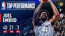 Joel Embiid Drops 40 Points and Grabs 21 Rebounds VS Indiana | December 14, 2018 #NBANews #NBA #76ers #JoelEmbiid