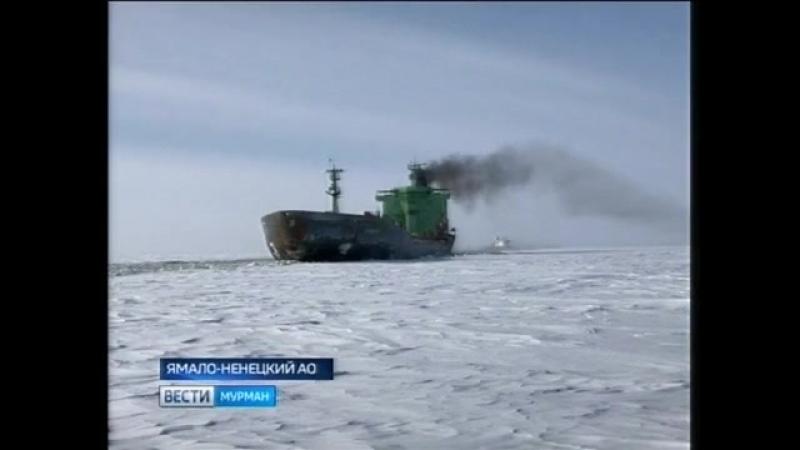 В Кольский залив на рейд встал танкер Мурманского морского пароходства Индига