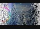 V-s.mobiС Днем рождения Поздравление для рожденных зимой Красивая видео открытка 1