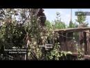 Последствия обстрела окраины Горловки