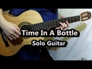 Time In A Bottle - Jim Croce (Guitar Cover)