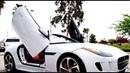 Jaguar F-Type Convertible Lambo Doors by Vertical Doors Inc