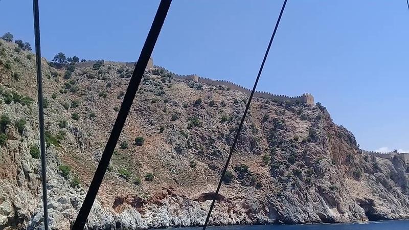 На яхте Big Kral по Средиземному морю, Турция (Алания) 2018г.