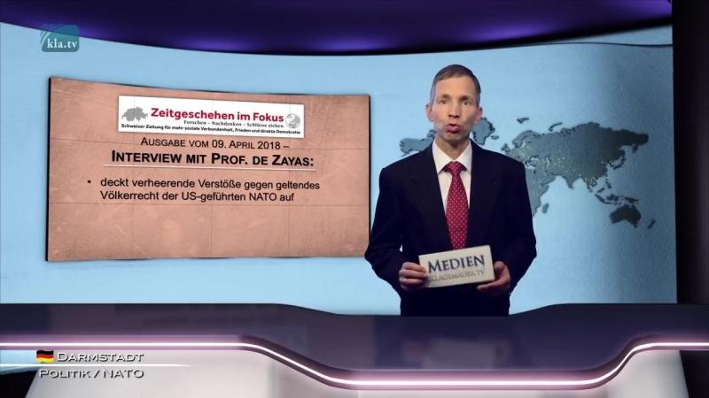 NATO steht im diametralen Gegensatz zur UNO - www.kla.tv