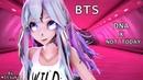 【MMD】BTS방탄소년단 - DNA /Not Today /Fire V-Girl Model