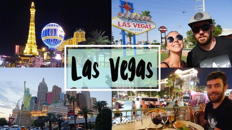 VLOG ROAD TRIP USA l On arrive à Las Vegas