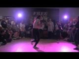Free Flow Fest 2017. Dancehall begginers FINAL. Воронина Марина vs. Татьяна Некрасова